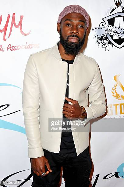 Recording artist Mali Music attends Aunyae Heart's single and video release party at Project LA on September 8 2016 in Los Angeles California