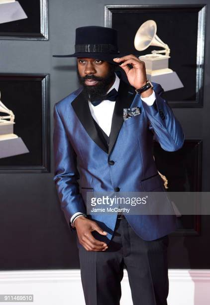 Recording artist Mali Music attends the 60th Annual GRAMMY Awards at Madison Square Garden on January 28 2018 in New York City