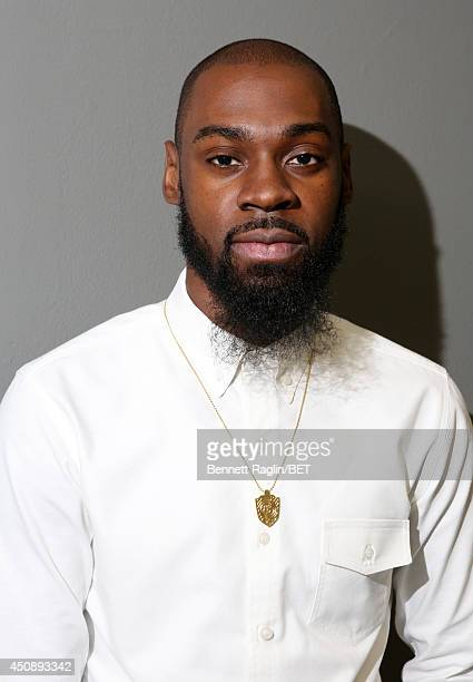 Recording artist Mali Music visits 106 Park at BET studio on June 18 2014 in New York City