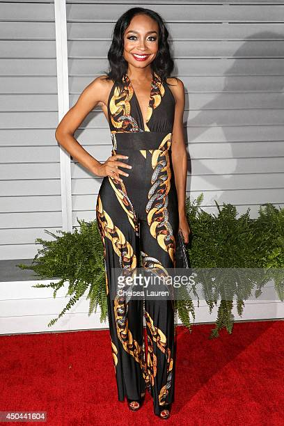 Recording artist Malina Moye arrives at Maxim Hot 100 at Pacific Design Center on June 10 2014 in West Hollywood California