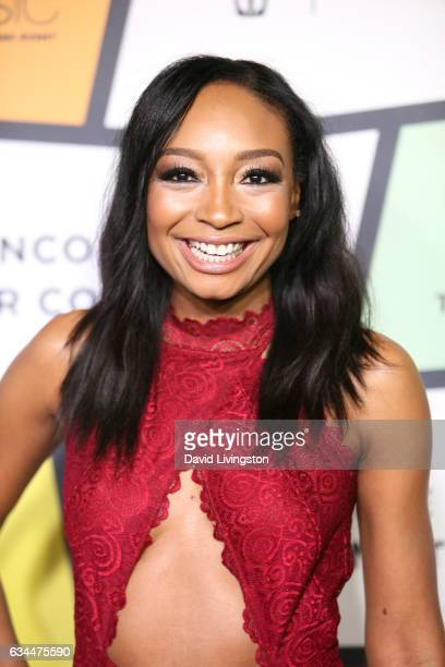 Recording artist Malina Moye attends the 8th Annual Essence Black Women in Music Event at NeueHouse Hollywood on February 9 2017 in Los Angeles...