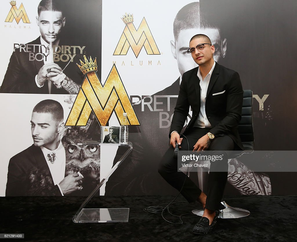 Maluma Mexico City - Press Conference