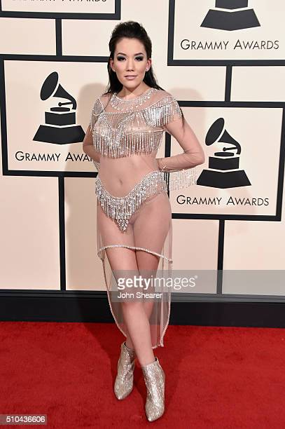 Recording artist Manika attends The 58th GRAMMY Awards at Staples Center on February 15 2016 in Los Angeles California