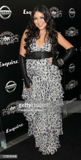 Recording artist Manika attends the House of Hype's 2011 MTV Video Music Awards After Party at the SLS Hotel on August 28 2011 in Los Angeles...
