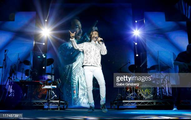 Recording artist Marco Antonio Solis performs at the Mandalay Bay Events Center on September 13, 2019 in Las Vegas, Nevada.