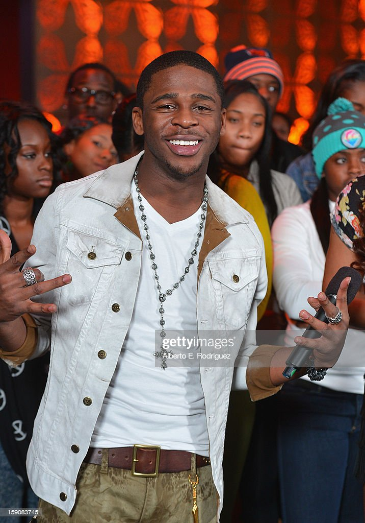 Recording artist Marcus Canty at a live taping of BET's '106& Park' at The Conga Room at L.A. Live on January 4, 2013 in Los Angeles, California.