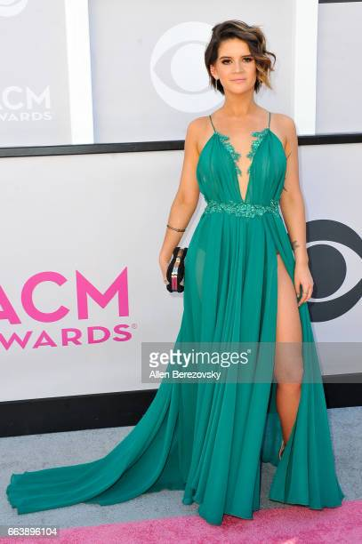Recording artist Maren Morris arrives at the 52nd Academy Of Country Music Awards on April 2 2017 in Las Vegas Nevada