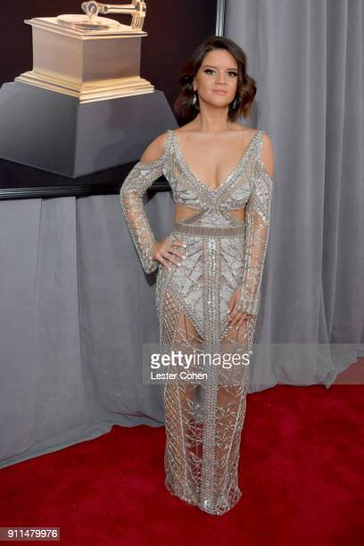 Recording artist Maren Morris attends the 60th Annual GRAMMY Awards at Madison Square Garden on January 28, 2018 in New York City.
