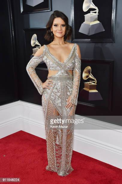 Recording artist Maren Morris attends the 60th Annual GRAMMY Awards at Madison Square Garden on January 28 2018 in New York City