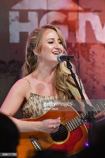 Recording artist Margo Price performs onstage at the HGTV Lodge during CMA Music Fest on June 11 2016 in Nashville Tennessee