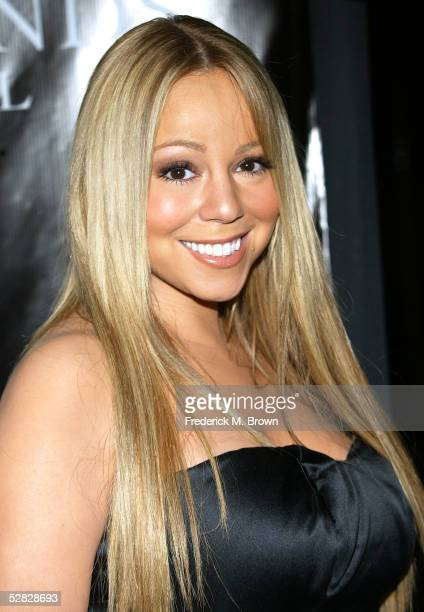 Recording artist Mariah Carey attends Oprah Winfrey's Legends Ball at the Bacara Resort and Spa on May 14 2005 in Santa Barbara California
