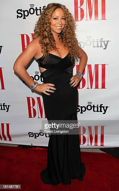 Recording artist Mariah Carey attends the 12th Annual BMI Urban Awards at the Saban Theatre on September 7 2012 in Beverly Hills California