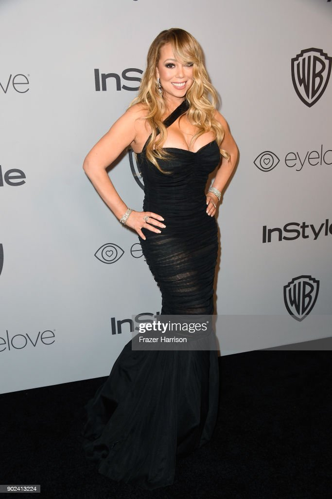 Recording artist Mariah Carey attends the 19th Annual Post-Golden Globes Party hosted by Warner Bros. Pictures and InStyle at The Beverly Hilton Hotel on January 7, 2018 in Beverly Hills, California.