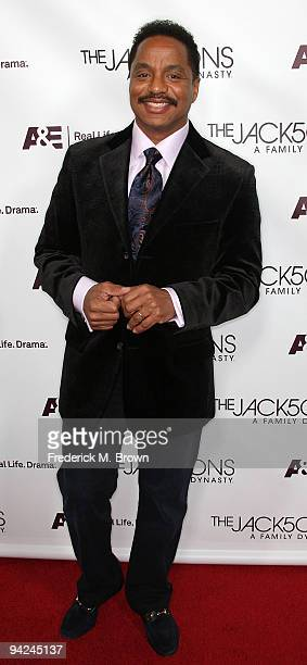 Recording artist Marlon Jackson attends the premiere of A E Network's 'The Jacksons A Family Dynasty' at Boulevard 3 on December 9 2009 in Los...