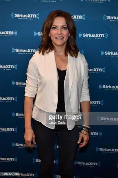 Recording Artist Martina McBride arrives at SiriusXM's Town Hall With Martina McBride at SiriusXM Studios on May 22 2017 in Nashville Tennessee