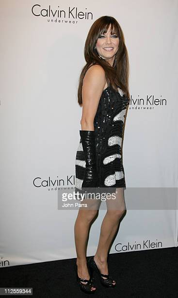 Recording artist Martina McBride arrives at The 25th Anniversary Party of Calvin Klein Underwear at Calvin Klein on September 5 2007 in New York City