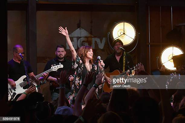Recording artist Martina McBride performs onstage at the HGTV Lodge during CMA Music Fest on June 11 2016 in Nashville Tennessee