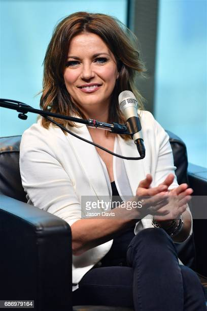 Recording Artist Martina McBride speaks during SiriusXM's Town Hall With Martina McBride at SiriusXM Studios on May 22 2017 in Nashville Tennessee