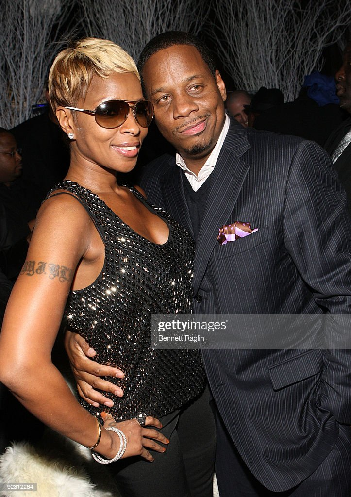 Recording artist Mary J. Blige and husband Kendu attend Ne-Yo's 30th Birthday Bash 'Cold As Ice' at Cipriani 42nd Street on October 17, 2009 in New York City.