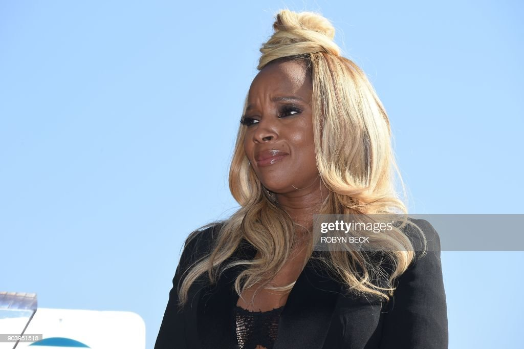 US-ENTERTAINMENT-MUSIC-BLIGE : News Photo