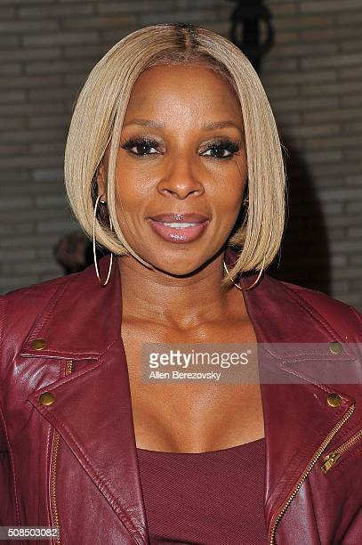 """Recording artist Mary J. Blige attends the U.S. Premiere of Debbie Allen's """"Freeze Frame"""" at The Wallis Annenberg Center for the Performing Arts on..."""