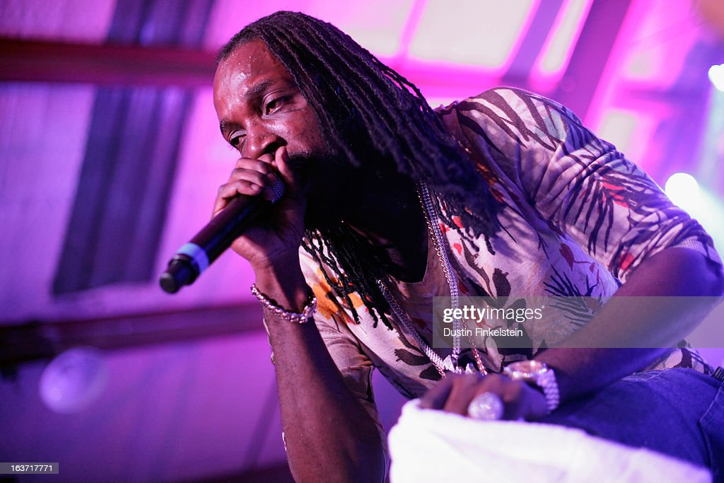 Recording artist Mavado performs onstage at Lion Fest during the 2013 SXSW Music, Film + Interactive Festival at Viceland on March 14, 2013 in Austin, Texas.