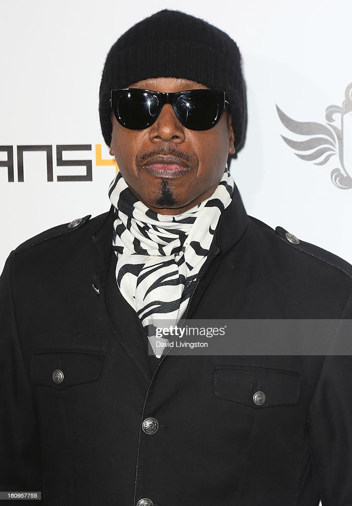 Recording artist MC Hammer attends the 2nd Annual will.i.am TRANS4M Boyle Heights benefit concert at Avalon on February 7, 2013 in Hollywood, California.