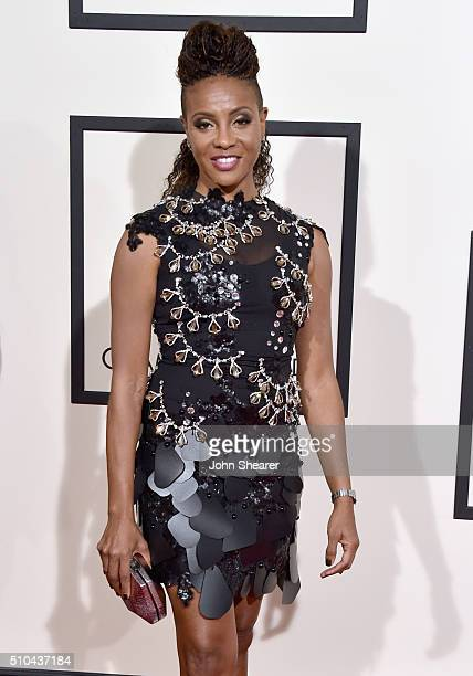 Recording artist MC Lyte attends The 58th GRAMMY Awards at Staples Center on February 15 2016 in Los Angeles California