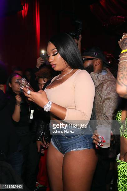 Recording artist Megan Thee Stallion attends the TIDAL X Megan Thee Stallion Ain't Shit Sweet Hottie Party at Public Arts on March 09 2020 in New...