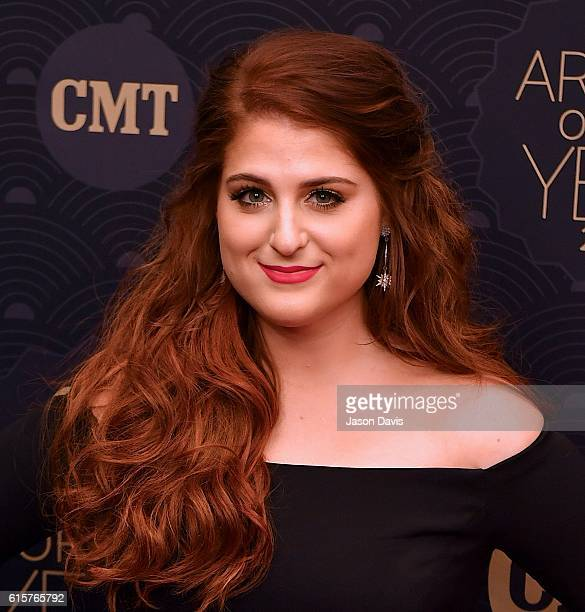 Recording Artist Meghan Trainor arrives at 2016 CMT Artists of the Year at Schermerhorn Symphony Center on October 19 2016 in Nashville Tennessee