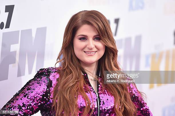 Recording artist Meghan Trainor attends KIIS FM's Wango Tango 2016 at StubHub Center on May 14 2016 in Carson California