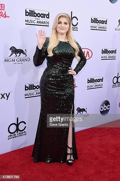 Recording artist Meghan Trainor attends the 2015 Billboard Music Awards at MGM Grand Garden Arena on May 17 2015 in Las Vegas Nevada