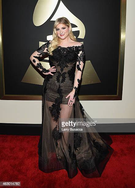 Recording Artist Meghan Trainor attends The 57th Annual GRAMMY Awards at the STAPLES Center on February 8 2015 in Los Angeles California
