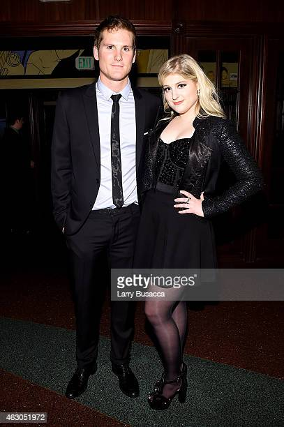 Recording artist Meghan Trainor attends the Sony Music Entertainment 2015 PostGrammy Reception at The Palm on February 8 2015 in Los Angeles...