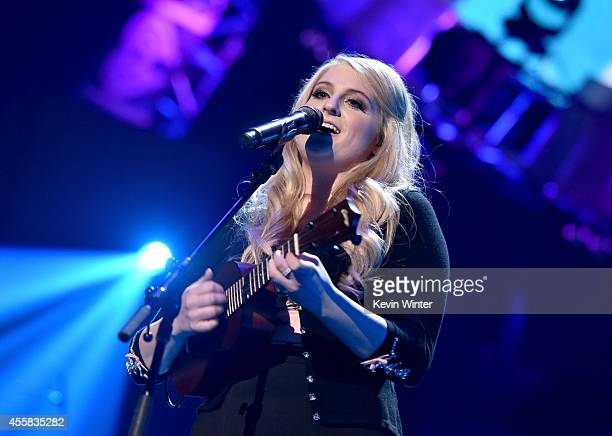 Recording artist Meghan Trainor performs onstage during the 2014 iHeartRadio Music Festival at the MGM Grand Garden Arena on September 20, 2014 in...