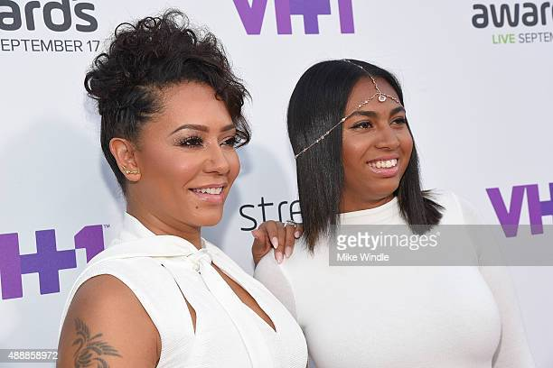 Recording artist Melanie Brown and Phoenix Chi attend VH1's 5th Annual Streamy Awards at the Hollywood Palladium on Thursday September 17 2015 in Los...