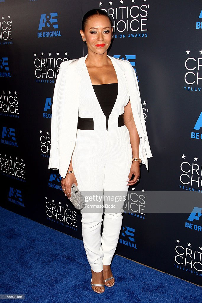 Recording artist Melanie Brown attends the 5th annual Critics' Choice Television Awards at The Beverly Hilton Hotel on May 31, 2015 in Beverly Hills, California.