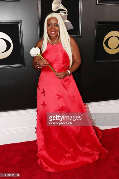 Recording artist Meli'sa Morgan attends the 60th Annual GRAMMY Awards at Madison Square Garden on January 28 2018 in New York City