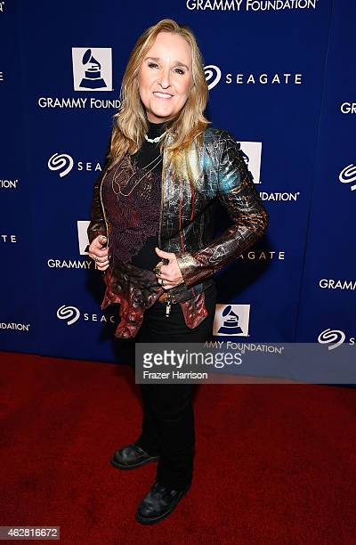 Recording artist Melissa Etheridge attends the GRAMMY Foundation's 17th annual Legacy Concert Lean On Me A Celebration of Music and Philanthropy at...