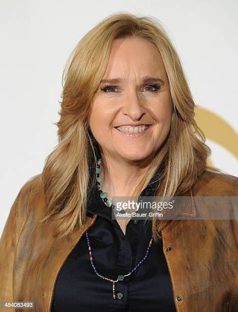 Recording artist Melissa Etheridge poses in the press room at The GRAMMY Nominations Concert Live Countdown To Music's Biggest Night at Nokia Theatre...
