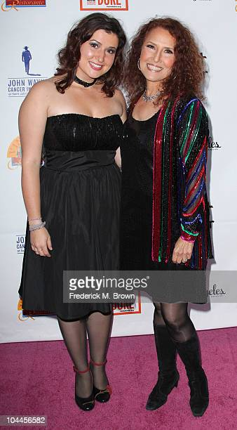 Recording artist Melissa Manchester and her daughter Hannah Manchester attend the Eighth annual What A Pair celebrity concert to benefit the John...