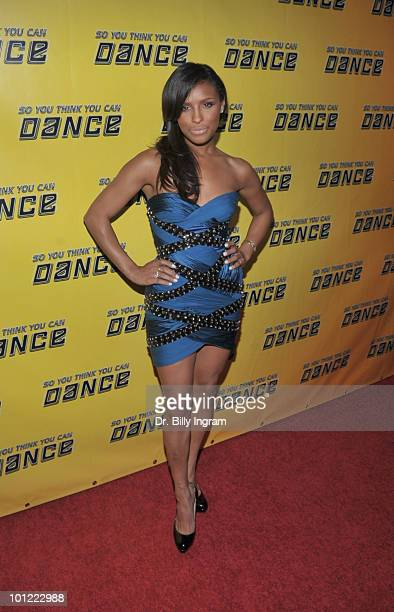 Recording artist Melody Thornton attends Season 7 'So You Think You Can Dance' Premiere at Trousdale on May 27 2010 in West Hollywood California