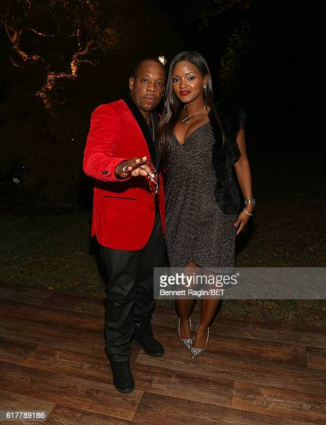 Recording artist Michael Bivins and wife Teasha Bivins attend BET's An Obama Celebration at The White House on October 21 2016 in Washington DC
