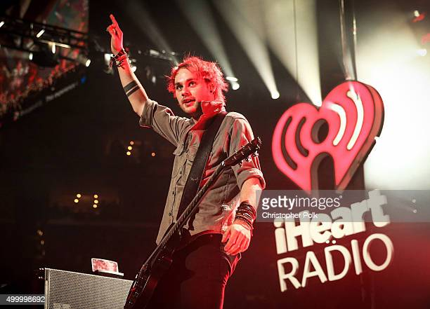 Recording artist Michael Clifford of 5 Seconds of Summer performs onstage during 1027 KIIS FM's Jingle Ball 2015 Presented by Capital One at STAPLES...