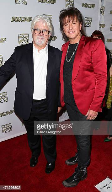 Recording artist Michael McDonald and Richie Sambora attend the 32nd Annual ASCAP Pop Music Awards at the Lowes Hollywood Hotel on April 29 2015 in...