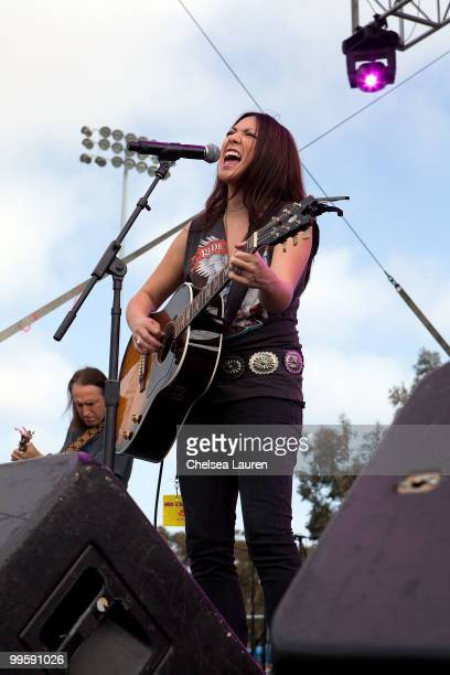 Recording artist Michelle Branch performs at the Sungod Festival at UCSD on May 14, 2010 in San Diego, California.