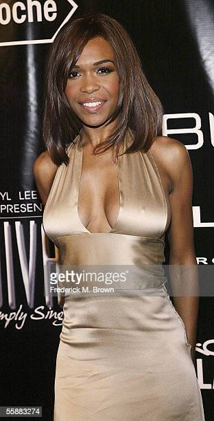 Recording artist Michelle Williams attends the 15th Annual Divas Simply Singing Benefit Concert at the Wilshire Ebell Theatre on October 8 2005 in...