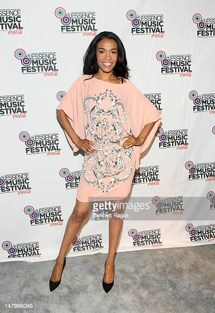 Recording artist Michelle Williams attends the 2012 Essence Music Festival at Louisiana Superdome on July 6 2012 in New Orleans Louisiana