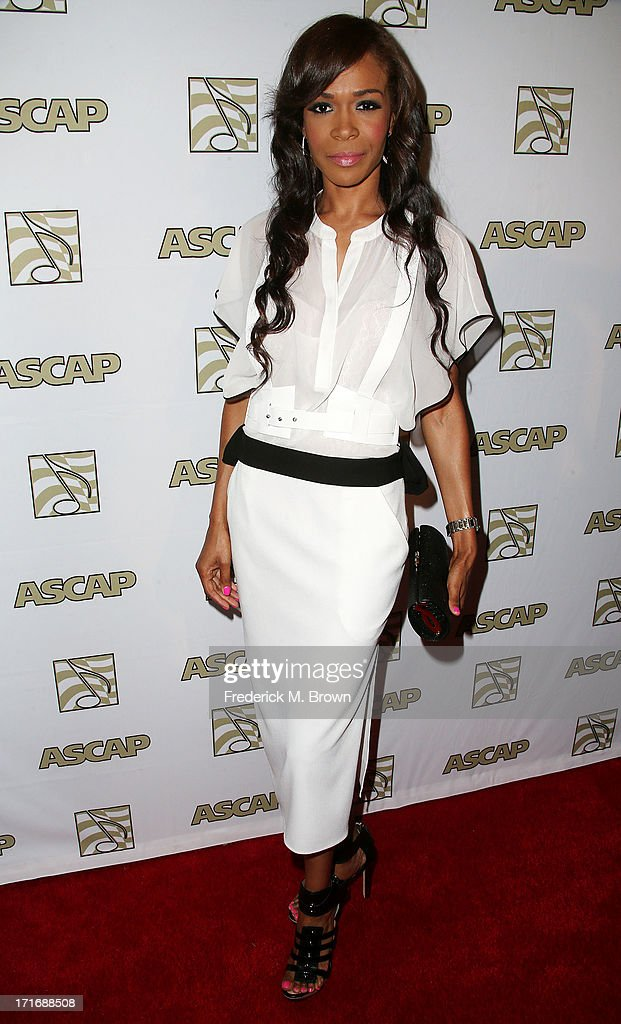 Recording artist Michelle Williams attends The American Society of Composers, Authors and Publishers (ASCAP) 26th Annual Rhythm & Soul Music Awards at The Beverly Hilton Hotel on June 27, 2013 in Beverly Hills, California.