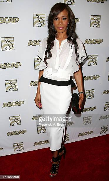 Recording artist Michelle Williams attends The American Society of Composers Authors and Publishers 26th Annual Rhythm Soul Music Awards at The...